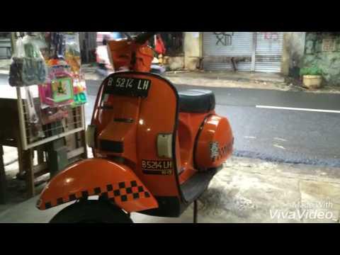 Vespa Strada 1987 Orange Ciamixxxxxxxxxx Youtube
