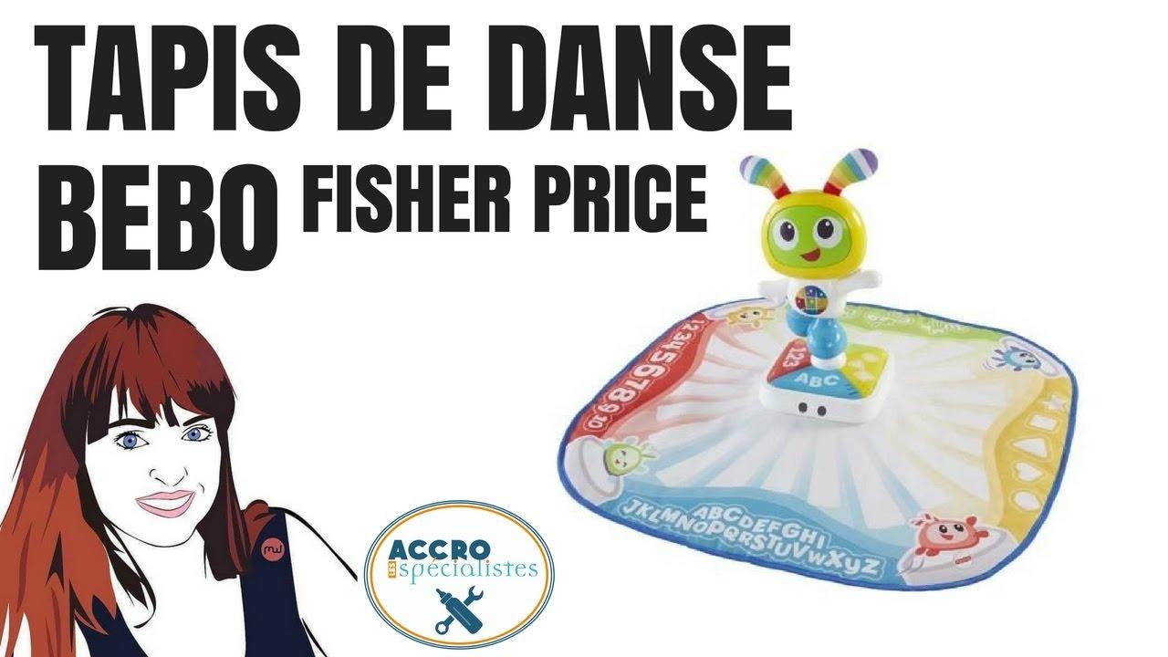 tapis de danse bebo fisher price