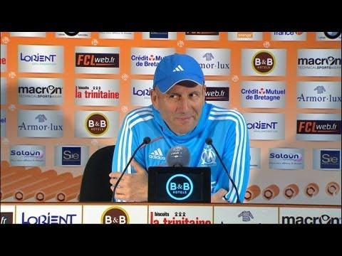 Conférence de presse FC Lorient - Olympique de Marseille (0-1) / 2012-13