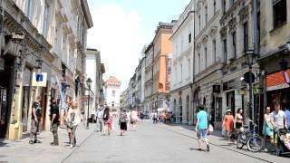 アキーラさん散策!親日国ポーランド・クラクフ旧市街5,Krakaw-City,Poland
