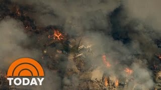 Blue Cut Fire In Southern California Forces 82,000 To Evacuate | TODAY