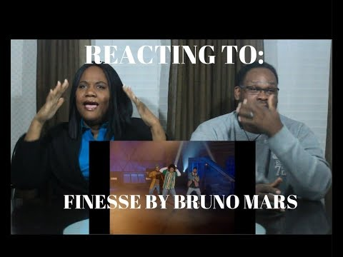 REACTING TO Bruno Mars - Finesse (Remix) [Feat. Cardi B] (Official Video)