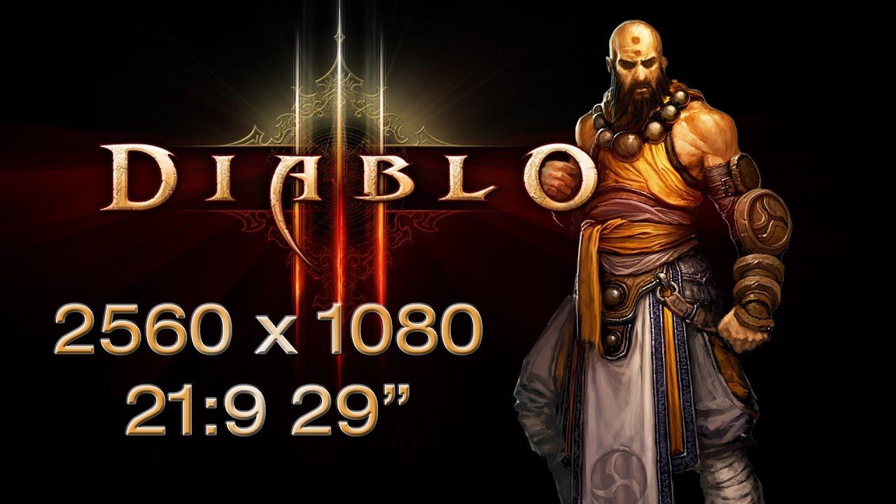 "Diablo III 2560x1080 21:9 LG 29"" EA93"