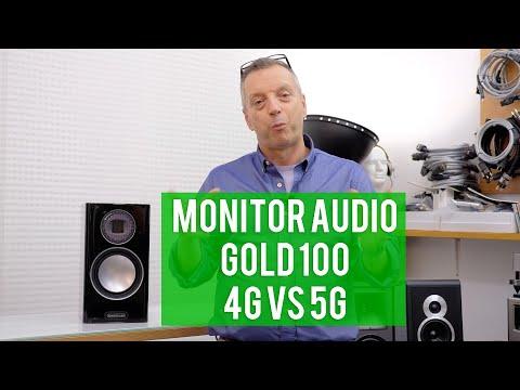 Monitor Audio Gold 100 4G vs 5G (vecchie vs nuove)