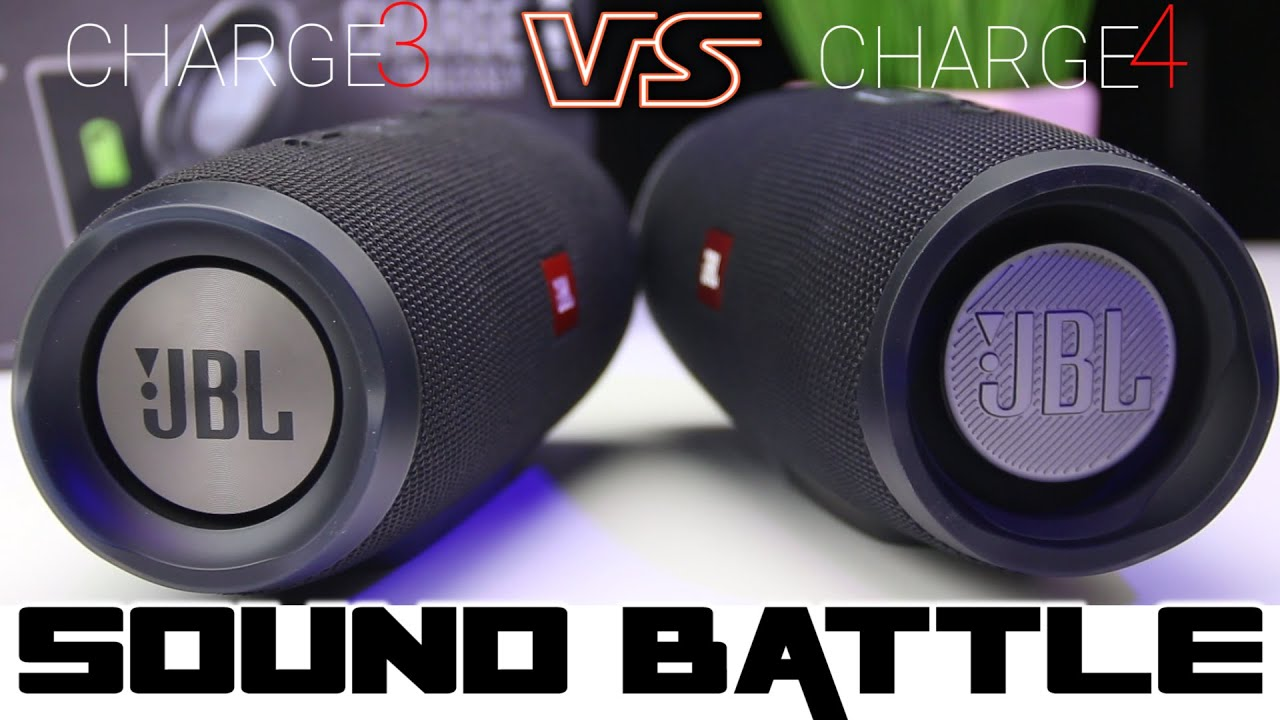 JBL Charge 4 vs Charge 3 :Sound Battle 😐A little underwhelming