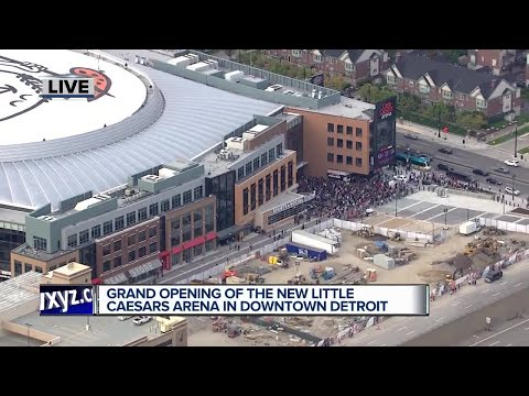 Grand Opening of the new Little Caesars Arena