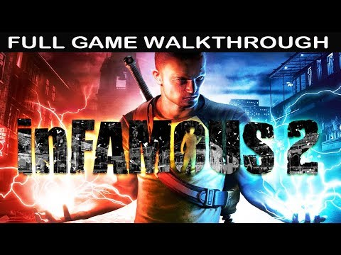 Infamous 2 Full GAME Walkthrough - No Commentary