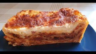 Вкусная Апетитная Сочная Лазанья