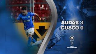 Audax Italiano vs. Cusco [3-0] | GOLES | Primera Fase (Vuelta) | Sudamericana 2020