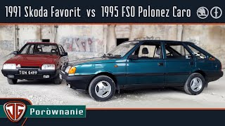 Jan Garbacz: FSO Polonez Caro vs Skoda Favorit - dylematy lat 90.