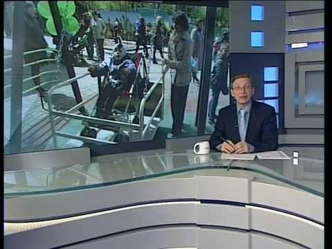 Аттракционы для детей-инвалидов открыли в Горсаду