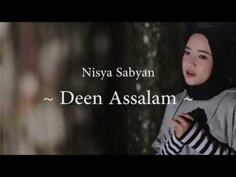 Nisya Sabyan - Deen Assalam (Lirik / Karaoke Video)