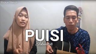 Download Jikustik Puisi (Cover ft. Khoirun Nikmah) || Lhondo Chanel