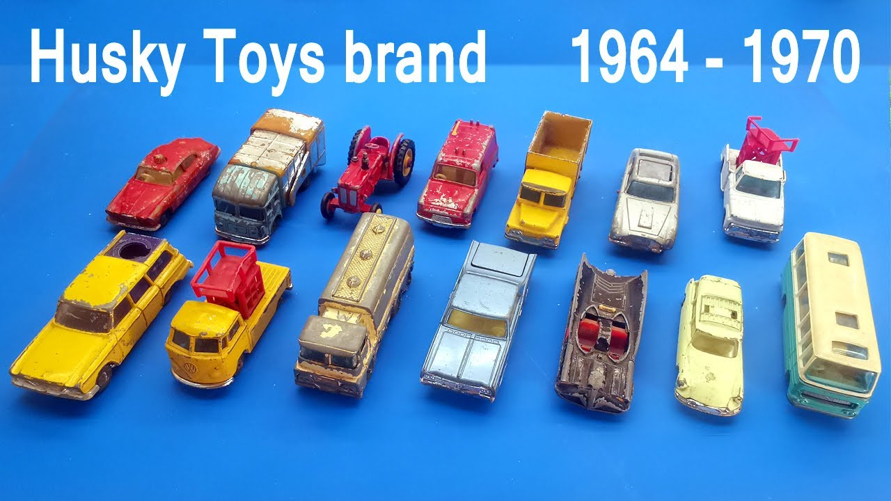 Husky diecast. Brand history 1964-1970. My collection for renovation. Voting which car to repair?