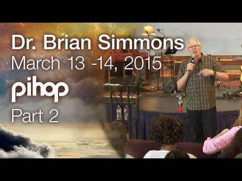 Brian Simmons - Touching Eternity at PIHOP Part 2