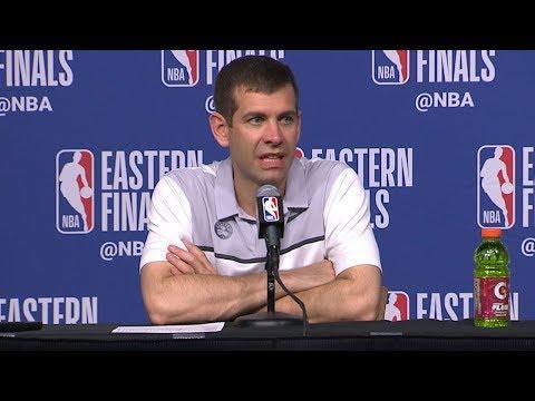 Brad Stevens Postgame Interview - Game 5   Cavaliers vs Celtics   2018 NBA East Finals