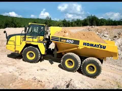 Komatsu HM400 5