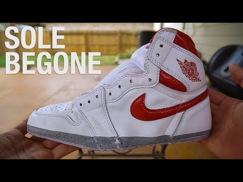 Air Jordan 1 - Sole Removal