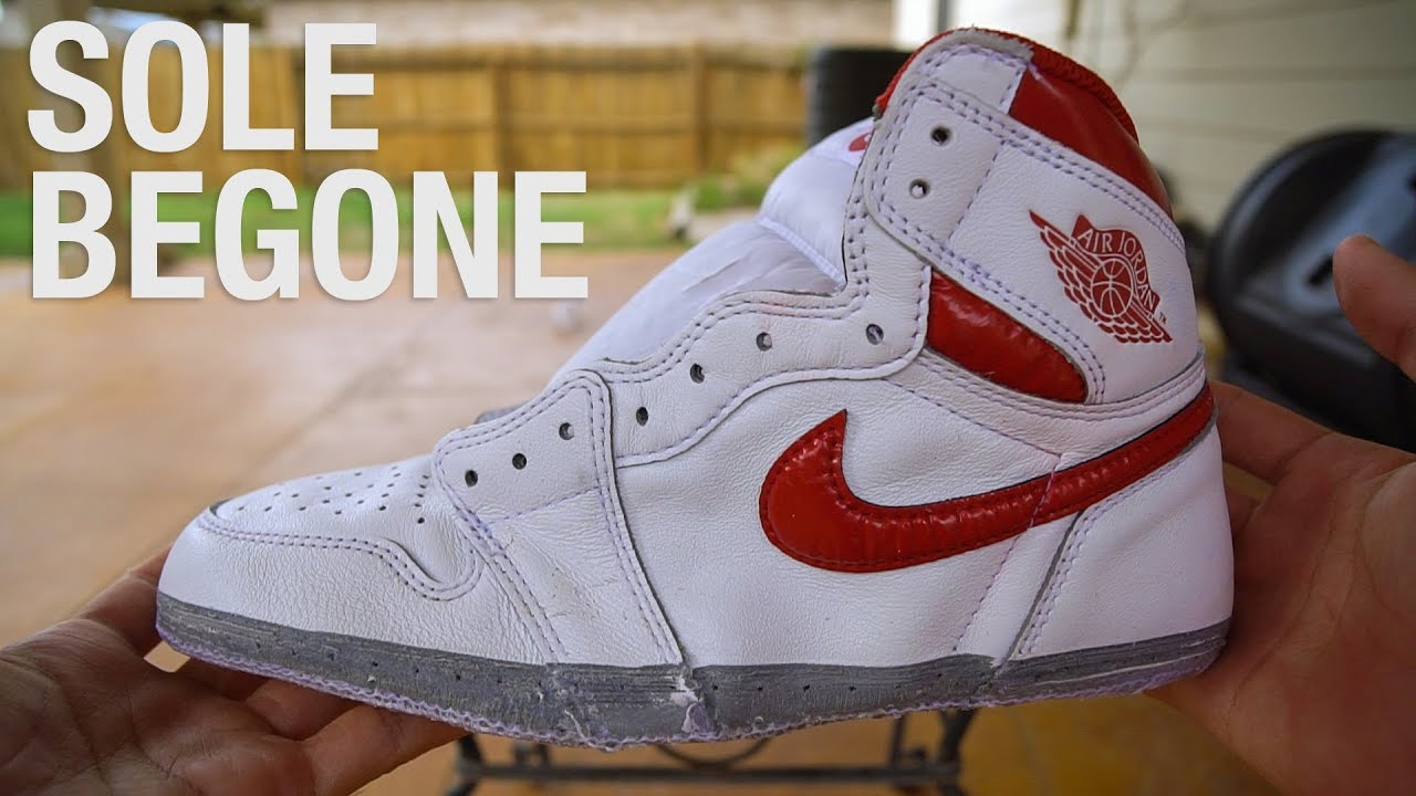 huge selection of 6e5d5 8f41f Air Jordan 1 - Sole Removal