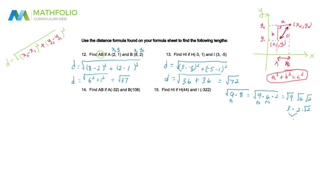 Geometry Midterm Review [Part 1 of 5]