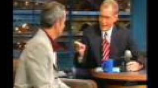John McEnroe on Letterman (part 1) [2000]