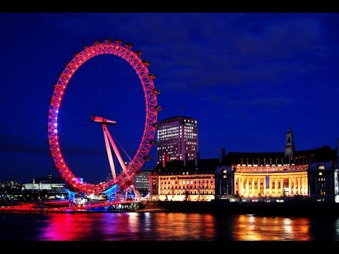 Visiting London Eye, Landmark In London, England