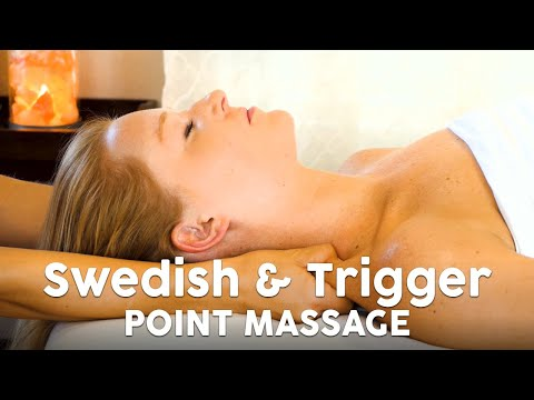 Massage Techniques for Neck Pain, Swedish vs. Trigger Point Techniques, How to Massage, HD Tutorial