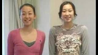 日本Olympus發表起用日本滑冰選手「浅田舞」「浅田真央」姐妹做為日本地...