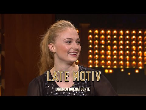 LATE MOTIV - Sophie Turner  | #LateMotiv93