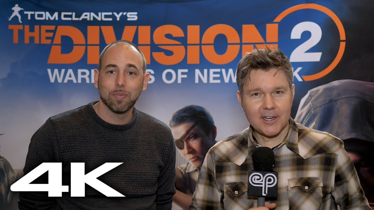 The Division 2: Warlords of New York Expansion with 4K Gameplay! - Electric Playground Interview