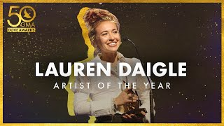 Lauren Daigle Wins Artist of the Year