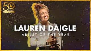 Lauren Daigle Wins Artist of the Year