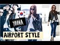 yoona SNSD  윤아  Best Airport Fashion - Girls Generation Moda 소녀시대