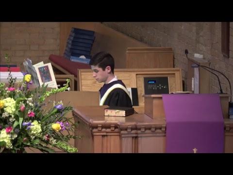 Second Presbyterian Church March 25, 2018