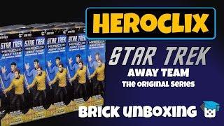 Heroclix Unboxing: Star Trek Away Team TOS