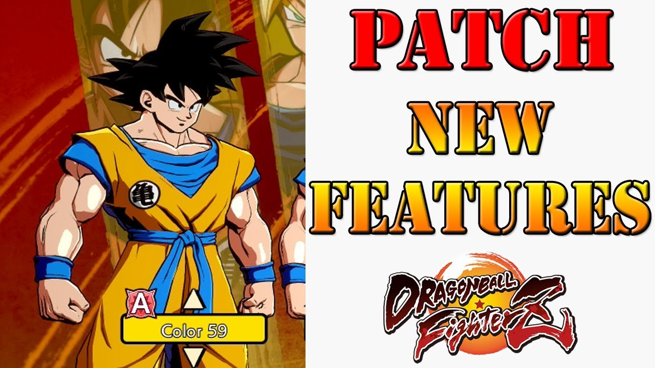 Dragon Ball Fighterz Ui Goku Patch Brings New Features Updated Shop Manga Colours More Youtube