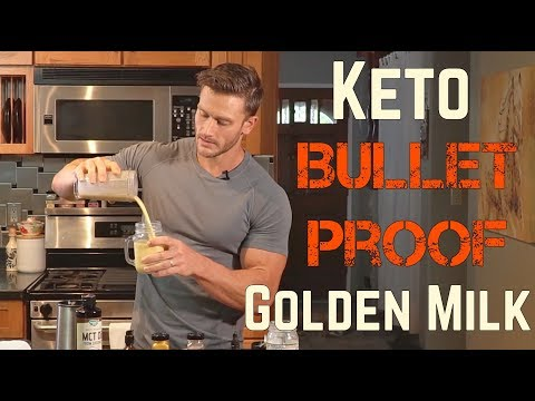 Keto Recipes: Bulletproof Golden Milk with Turmeric- Thomas DeLauer