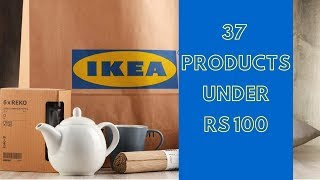 IKEA Hyderabad | Best Products Under Rs 100 | Price Details | Product Descriptions