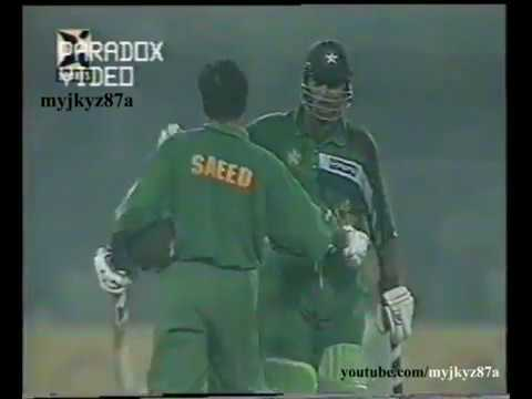 Saeed Anwar 108* & Aamer Sohail 71* - UNBEATEN 163 RUNS STAND - Vs West Indies at Lahore 1997