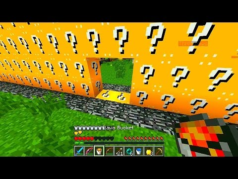 MINECRAFT 2v2 LUCKY BLOCK WALLS