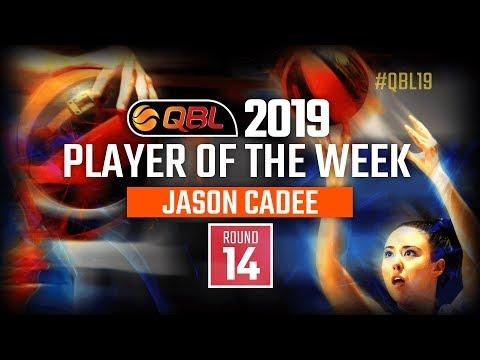 Player Of The Week (Men) Round 14, QBL 2019, Jason Cadee - Brisbane Capitals