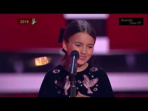 Edith Piaf - 'L'hymne à L'amour'. Nino. The Voice Kids Russia 2019.