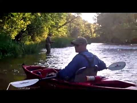Fly fishing the yellow river iowa june 2012 youtube for Fly fishing iowa