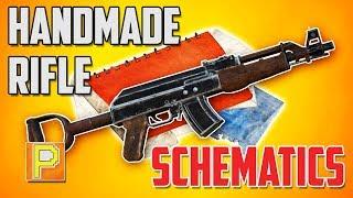 Fallout 76 - Handmade Rifle Schematics [RARE WEAPON GUIDE]