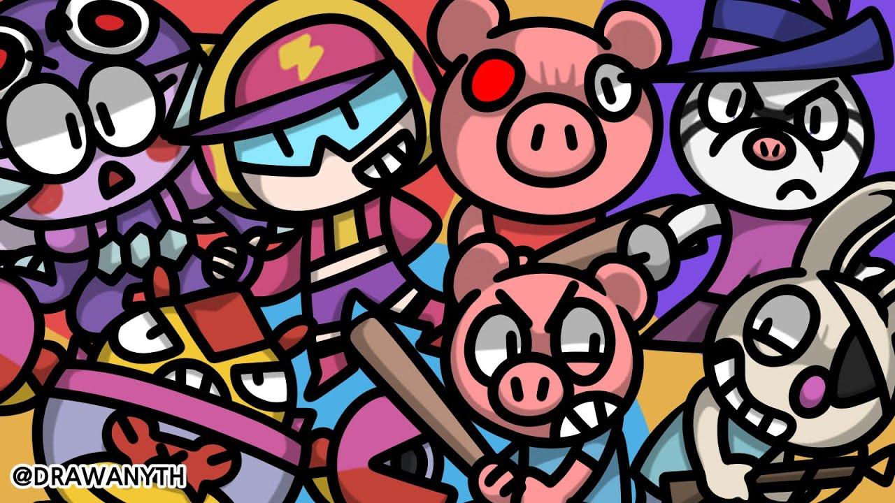 Doodle Time | Brawl Stars | Roblox Piggy
