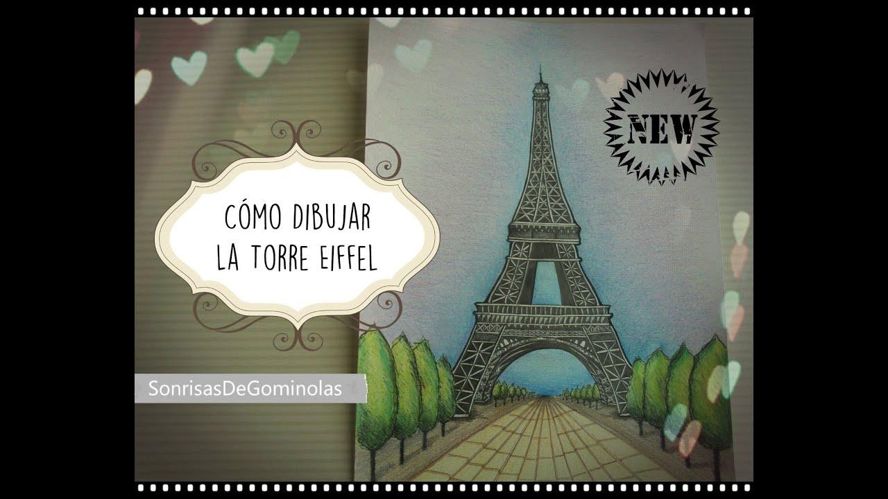 Torre Ifel En Dibujo: Cómo Dibujar La Torre Eiffel (Paso A Paso, Narrado) *SG