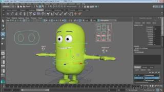 Animating Cartoon Characters In Maya
