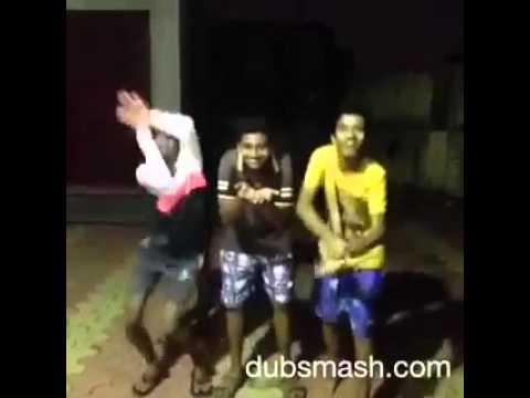 funny |comedy |whatsapp video-Marathi dubsmash kallulach gadulach  pani dance by student funny
