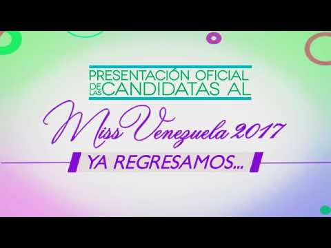 Asignación Imposición de bandas del Miss Venezuela 2017