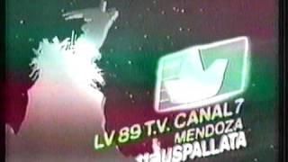 Canal 7 Mendoza: ID años 80.